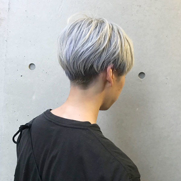 メンズマッシュヘア